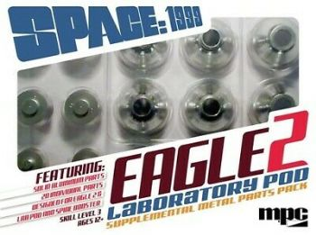 "Space 1999 22"" Eagle With Lab Pod Supplemental Metal Parts Pack 1:48 Scale"